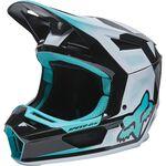 _Fox V2 Dier Helmet Turquoise | 28031-176 | Greenland MX_