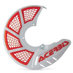 _Acerbis X-Brake 2.0 Vented Front Disc Protector White/Orange | 0021846.031 | Greenland MX_
