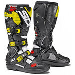 _Sidi Crossfire 3 SRS Boots White/Black/Yellow Fluo | BSD32112600 | Greenland MX_