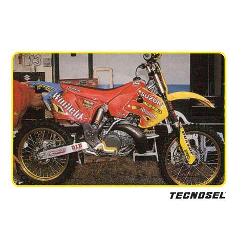 _ Tecnosel Seat Cover Replica Team Suzuki 1999 RM 125/250 99-00 | 13V03 | Greenland MX_