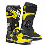 _Sidi Flame Young Boots Yellow Fluo/Black | BSD3400000 | Greenland MX_