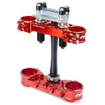 _Triple Clamp Neken SFS Suzuki RMZ 450 14-16 (Offset 21.5mm) Red | 0603-0589 | Greenland MX_