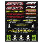 _4MX Assorted Stickers Pro Circuit | 01KITA608 | Greenland MX_