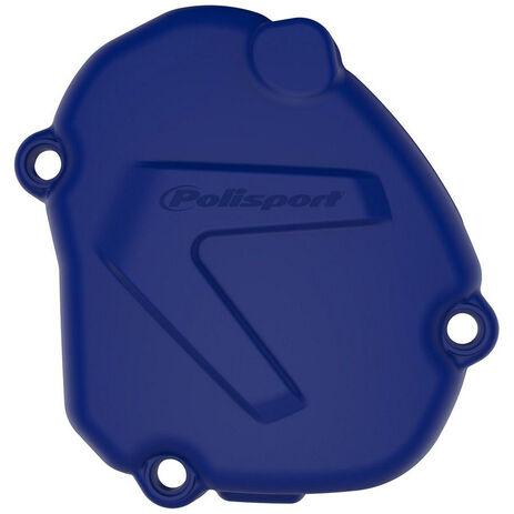 _Ignition Cover Protector Polisport Yamaha YZ 125 05-18 Blue | 8464400002 | Greenland MX_