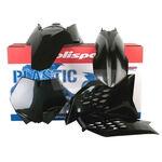 _Polisport KTM SX/SX-F 07-10 EXC /EXC-F 08-11 Plastic Kit Black | 90239 | Greenland MX_