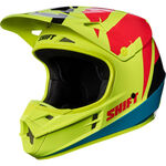 _Shift White Label Tarmac Helmet Yellow Fluor | 17232-130 | Greenland MX_
