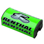 _Renthal fat bar square handlebar pad Green | P282 | Greenland MX_