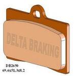 _Delta Brake Pads Front Aprilia 125 RS4 11-15 | DB2650 | Greenland MX_