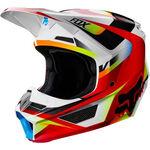 _Fox V1 Motif Youth Helmet   21784-054-P   Greenland MX_