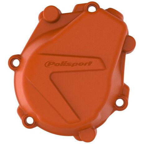 _KTM SX-F 450 16-18 Husqvarna FC 450/FS 450 16-18 Ignition Cover Protector Orange   8463900002   Greenland MX_