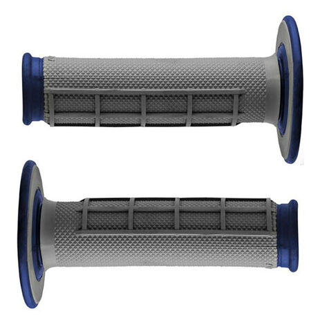 _Renthal dual half waffle medium grips blue | G157 | Greenland MX_