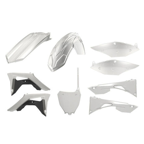 _Polisport Honda CRF 450 F 17-.. Plastic Kit Transparent | 90771 | Greenland MX_