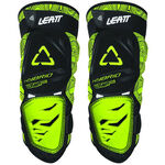 _Leatt 3DF Hybrid Knee Guard Black/Lime | LB50154004300P | Greenland MX_