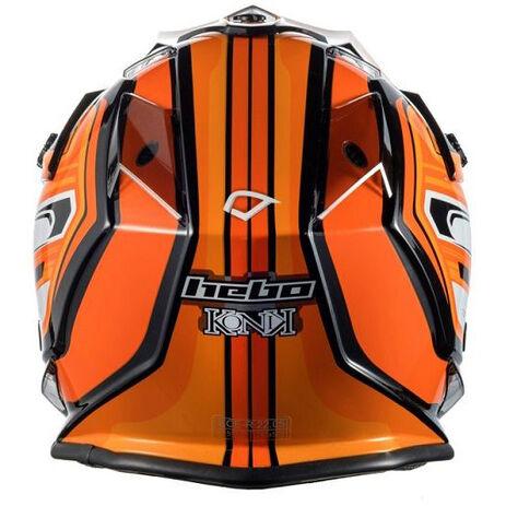 _Hebo MX Konik Helmet Orange | HC0618T | Greenland MX_