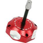 _Zeta Honda CRF 250 R 04-17 CRF 450 R 02-16 Gas Cap Aluminum Red | ZE87-0603 | Greenland MX_