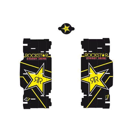 _Rad Louver Decals Blackbird Replica Rockstar Energy KTM SX/SXF 08-15 /EXC 08-16 | A501L | Greenland MX_