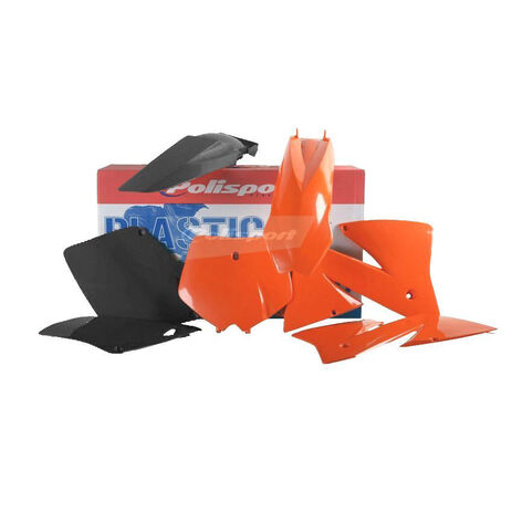 _Polisport KTM EXC 01-02 EXCF 01-02 Plastic Kit   90101   Greenland MX_