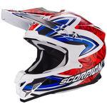 _Scorpion VX-15 Evo Air Revenge Helmet White/Red/Blue   35-217-125-P   Greenland MX_