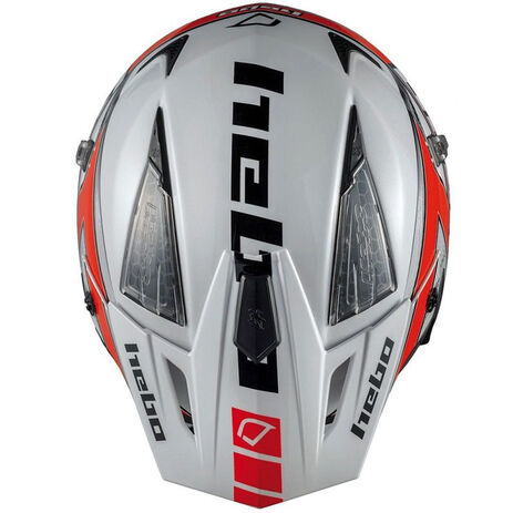 _Hebo Zone 4 Kontrox Trial Helmet Red | HC1025R | Greenland MX_