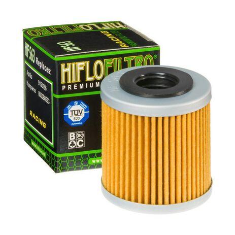 _Hiflofilto oil filter Aprilia rxv 450 06-12 husqvarna tc/te 08-09   HF563   Greenland MX_