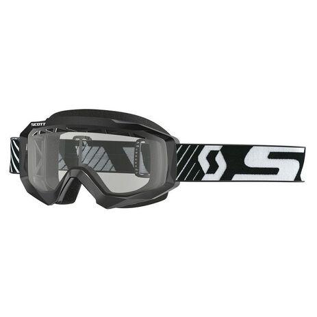 _Scott Hustle MX Enduro Goggles Black/White | 2625941007043 | Greenland MX_