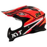 _KYT Strike Eagle Simpson Replica Helmet Orange | KYT-YSEA0020 | Greenland MX_