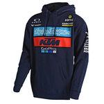 _Troy Lee Designs  KTM Hoodie Fleece Navy | 731644370 | Greenland MX_