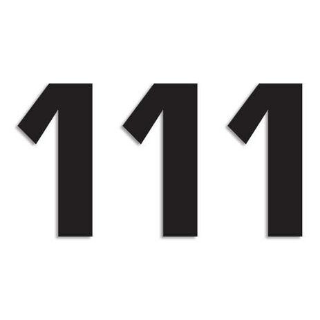 _Blackbird Vinyl Numbers # 1 Black (16 x 7,5 cm) | 5048-20-1 | Greenland MX_