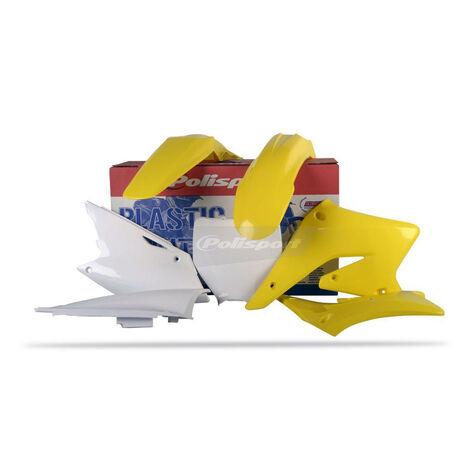 _Polisport Suzuki RMZ 250 04-06 Plastic Kit | 90096 | Greenland MX_