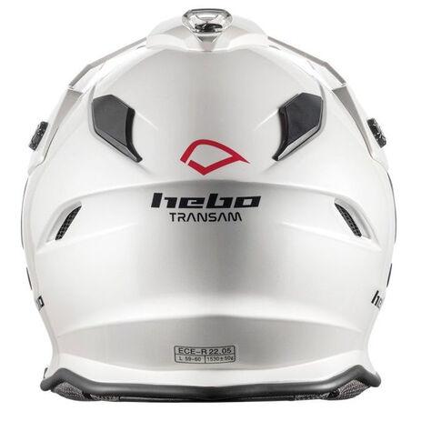 _Hebo DS Transam Helmet White | HC3200B | Greenland MX_