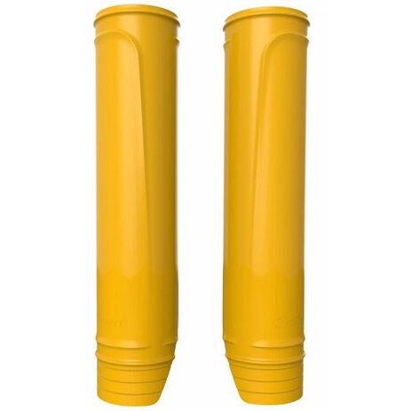 _Polisport Upper Fork Protector Yellow | 8463500007 | Greenland MX_