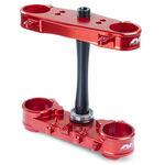 _Triple Clamp Neken Standard Suzuki RMZ 250 14-15 (Offset 21.5mm) Red | 0603-0600 | Greenland MX_