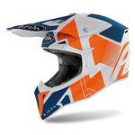 _Airoh Wraap Raze Helmet Orange   WRRA32   Greenland MX_