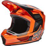 _Fox V2 Dier Helmet Orange Fluo | 28031-824 | Greenland MX_