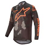 _Alpinestars Racer Tactical Jersey 2020 Black/Camo/Orange Fluo | 3761220-1144 | Greenland MX_