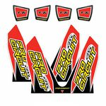 _Pro Circuit T6 CRF Dual Exhaust Decal | DC14T6-CRF | Greenland MX_