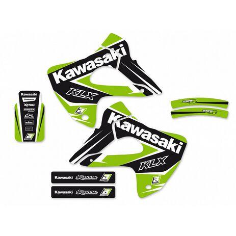 _Blackbird Dream 4 Kawasaki KLX 300 97-08 Kit Decal   2412N   Greenland MX_