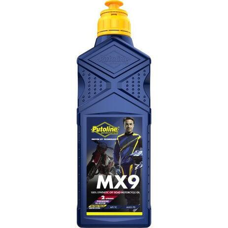 _Putoline 2 Strokes Ester Tech MX 9 Oil 1 Lt | PT70695 | Greenland MX_