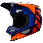 _Fox V1 Prix Helmet Orange/Black | 25471-592 | Greenland MX_