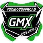 _GMX Mini Plate Sticker 5,5 x 5,5 cm | PU-MBFPES-P | Greenland MX_