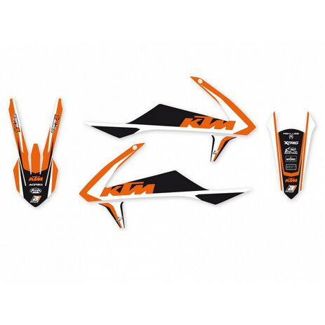 _Blackbird Dream 4 KTM SX/SXF 16-18  EXC 17-19  Complete Kit Decal | 8541N | Greenland MX_