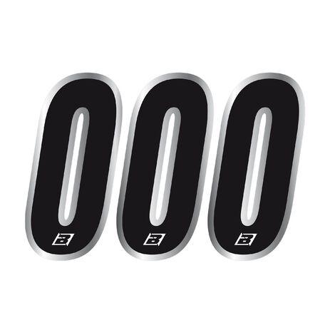 _Blackbird Numbers #0 Black (15x7 cm) | 5069-20-0 | Greenland MX_