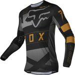_Fox Flexair Riet Jersey Black | 28130-001 | Greenland MX_
