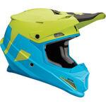 _Thor Sector Level Helmet Blue/Green | 01105142-P | Greenland MX_