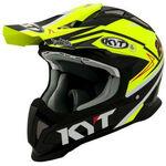 _KYT Strike Eagle Simpson Replica Helmet Yellow | KYT-YSEA0018 | Greenland MX_