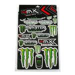 _4MX Monster Sticker Kit | 01KITA606 | Greenland MX_
