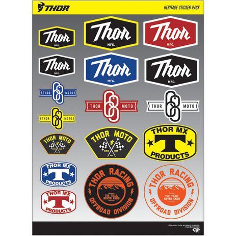 _Thor Heritage Sticker Pack | 4320-1572 | Greenland MX_