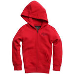 _Fox Edify Youth Zip Fleece Red M | 20996-208-YM | Greenland MX_