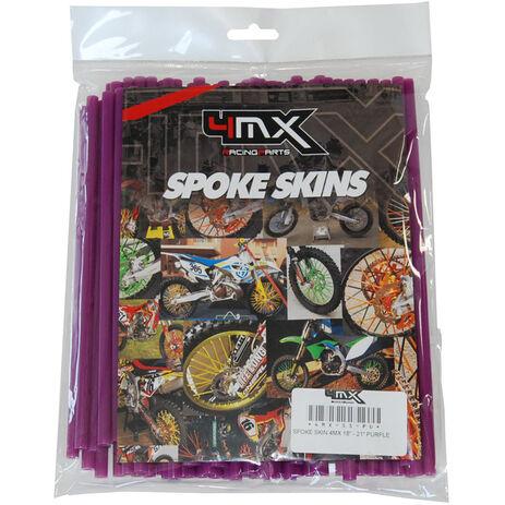 _4MX Spoke Skin Set Purple | 4MX-SS-PU | Greenland MX_