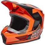 _Fox V1 Dier Helmet Orange Fluo | 28360-824 | Greenland MX_